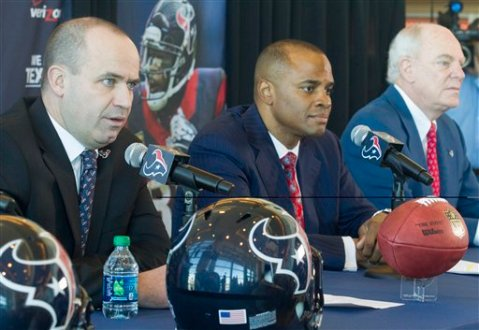 Bill O'Brien, Rick Smith, Bob McNair